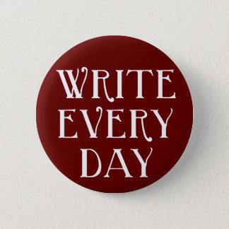 Pin's Écrivez chaque jour