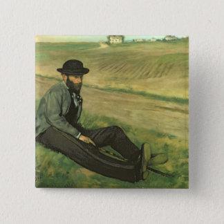 Pin's Edgar Degas | Eugene Manet