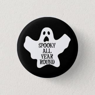 Pin's Éffrayant boutonnez toute l'année
