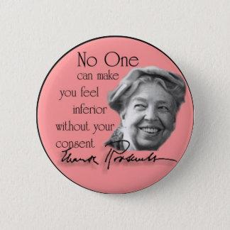 Pin's Eleanor Roosevelt - première Madame du monde