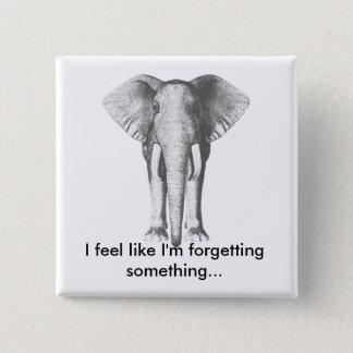 Pin's Éléphant--Oublier quelque chose