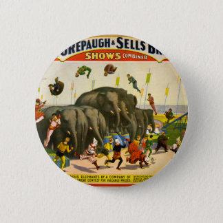 Pin's Éléphants de cirque