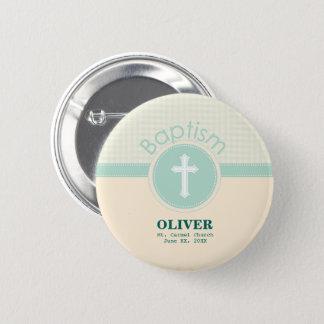 Pin's Enfant de baptême de Dieu, vert neutre de genre