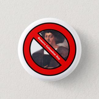 Pin's Enlevez le bouton de jour de Columbus