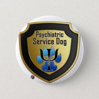 Pin's Entretenez la gelée de bleu d'aides de chien