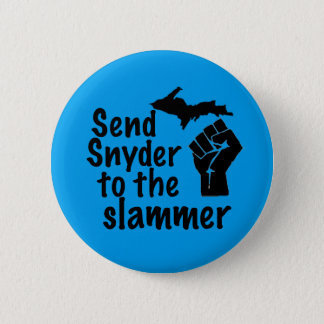 Pin's Envoyez Snyder à la tôle