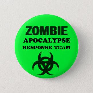 Pin's Équipe de réponse d'Apocolypse de zombi
