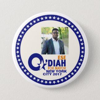 Pin's Ese O'Diah pour le maire 2017 de NYC