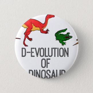 Pin's Évolution de D de dinosaure
