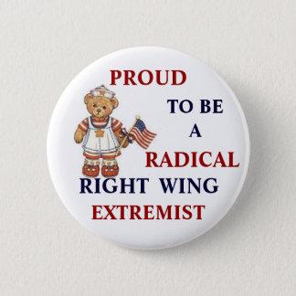 Pin's Extrémiste radical fier de droite