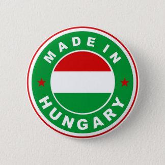 Pin's fait dans le timbre rond d'étiquette de drapeau de