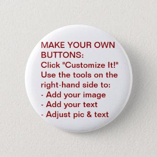 Pin's Faites vos propres boutons Pin-De retour