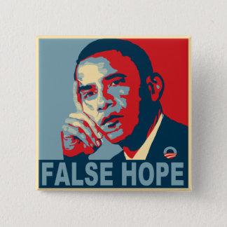 Pin's Faux espoir Obama