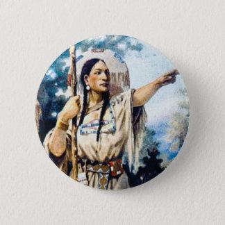 Pin's femme indienne de squaw