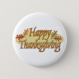 Pin's Feuille d'automne de bon thanksgiving