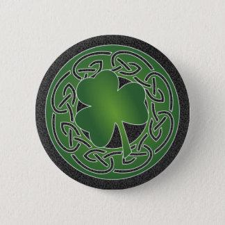 Pin's Feuille de trèfle - bouton du jour de St Patrick
