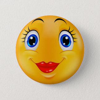 Pin's Fille de sourire