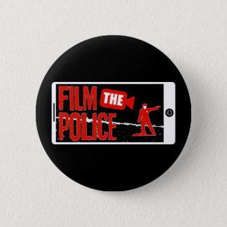 Pin's Filmez le bouton de police