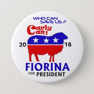 Pin's Fiorina pour le président 2016