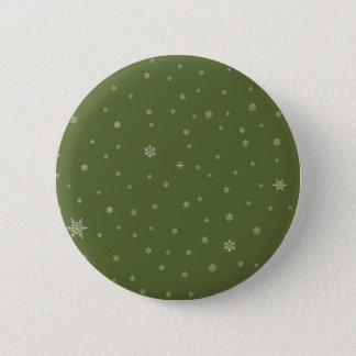 Pin's Flocons de neige sur le vert