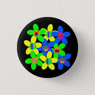 Pin's Flower power 60s-70s