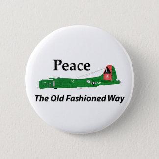 Pin's Forteresse du vol B-17 - paix la manière démodée