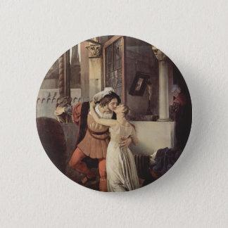 Pin's Francesco Hayez- le dernier baiser de Romeo et de