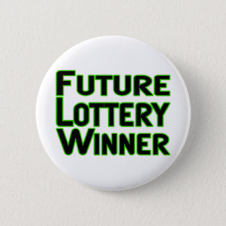 Pin's Futur gagnant de loterie