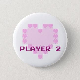 Pin's Gamers dans l'amour - joueur 2