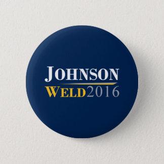 Pin's Gary Johnson - logo de campagne de la soudure 2016