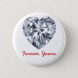 Pin's Giraux0807-Diamond-Heart, pour toujours. Nous vous