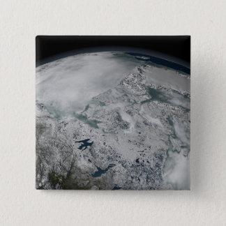 Pin's Glace de mer au-dessus de l'Amérique du Nord
