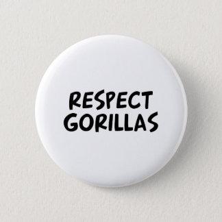 Pin's Gorilles de respect