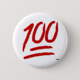 Pin's goupille de l'emoji 100