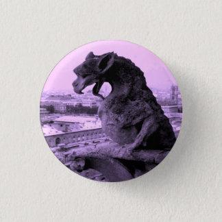 Pin's Goupille gothique de bouton de gargouille de Notre