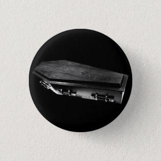 Pin's Goupille gothique de bouton de Goth de cercueil