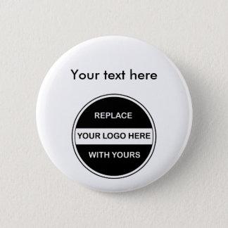 Pin's Goupilles de bouton de logo d'affaires