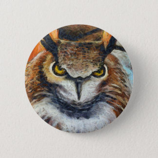 Pin's Grand hibou grincheux d'oreille