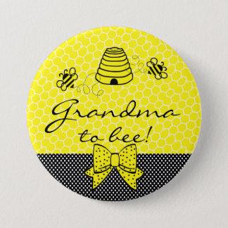 Pin's Grand-maman à être abeille