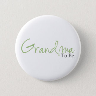 Pin's Grand-maman à être (manuscrit vert)