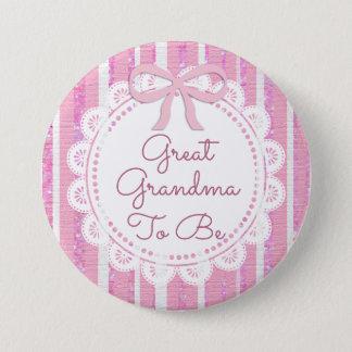 Pin's Grande grand-maman à être arc de rose de bouton de
