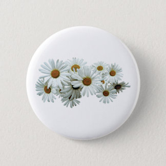 Pin's Groupe de marguerites blanches