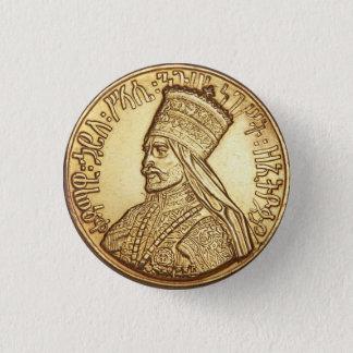 Pin's Haile eux Empire of Ethiopia Rastafari bouton
