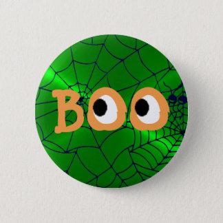 Pin's Halloween orange et vert huent le bouton de globes