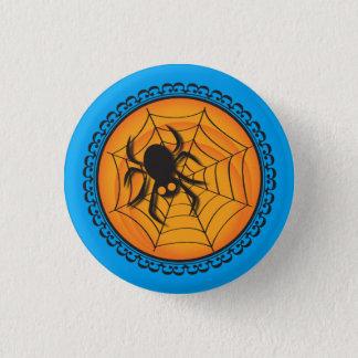 Pin's Halloween silhouette l'insigne d'araignée et de