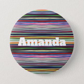 Pin's HAMbWG - bouton - nom multi de la couleur W