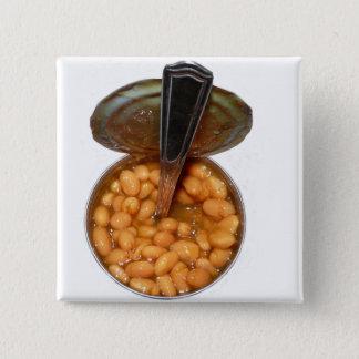 Pin's Haricots cuits au four dans la boîte en fer blanc