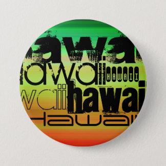 Pin's Hawaï ; Vert, orange vibrants, et jaune