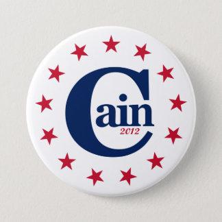 """Pin's Herman Caïn pour le président 2012 3"""" bouton de"""
