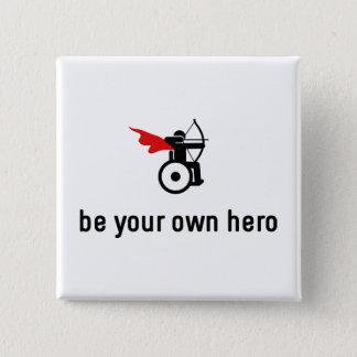 Pin's Héros de tir à l'arc de fauteuil roulant